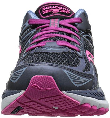 Saucony - W Echelon 5, Chaussures Sport Femme Rose