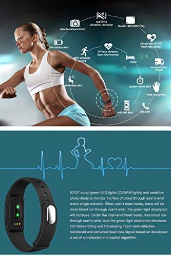 iMusi Heart Rate Monitor Watch - Grün -