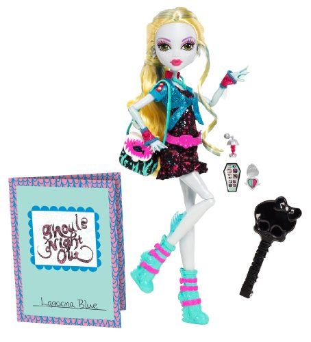 - Monster High Lagoona Puppe