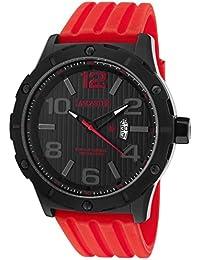 Lancaster Reloj de hombre con banda de silicona Fecha 10 bar ola0479nr/RS/RS
