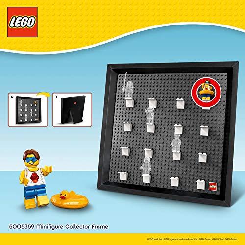LEGO 5005359 Marco exposición Minifiguras Incluye