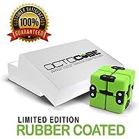 OCTOCUBE Infinito de lujo Fidget cubo - infinito rompecabezas 3D Premium   Alivio del estrés, la ansiedad, reducción de la presión - Revestimiento de goma
