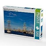 Segelschiffe auf der Hanse Sail 1000 Teile Puzzle Quer