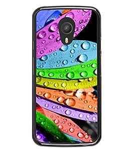 Multicolour Flower 2D Hard Polycarbonate Designer Back Case Cover for Meizu M1 Note