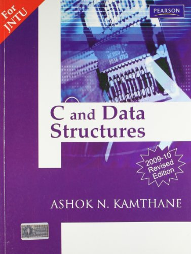 C and Data Structures (2009-10 Revised Edition)