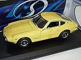Maisto Nissan 240z 240 Z Datsun 1970 Creme Gelb Coupe 1/18 Modellauto Modell Auto