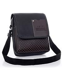 2a33441623 SenvenSky Trendy Rust Color Sling Bag for Men for Daily Use