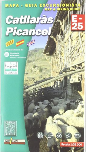 Catllaras Picancel - Mapa (Mapa Y Guia Excursionista)
