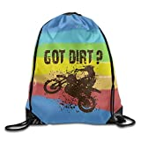 Best Kids Bike Locks - Naiyin Got Dirt Bike Motorcross Racing Drawstring Gym Review