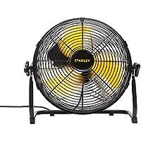 Stanley alta velocidad Ventilador de Metal, 3palas de acero, porzellanbeschichtetes rejilla protectora, 3niveles de velocidad, 1pieza, ST PX30t-A-12F de DDF de S