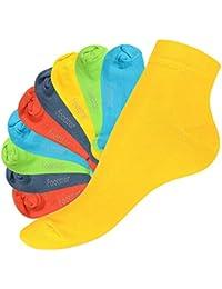 SNEAK IT! - 10 pares de calcetines de caña corta unisex - Calidad de celodoro - Disponibles en varios colores y tallas de la 35 a la 50
