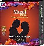 #8: Life Zen Musli Zen - 10 Caps.X 3 = 30 Caps ( Proven Herbal Formula For Vitality & Stemina )