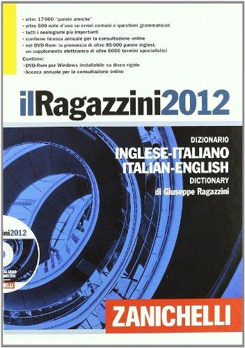 RAGAZZINI 2012*DIZ INGLESE COF+DVD