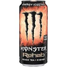 Monster Energy Rehab Peach Tea, Einweg Dose (1 x 0,5 l)