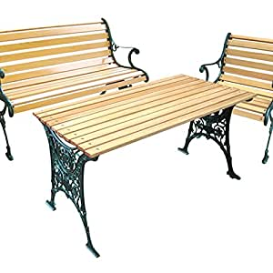 Gusseisen, stellen Holzlatten 1 Stuhl, Standardgröße
