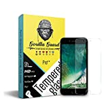 Gorilla Guard Pro++ Series Tempered Glass For Apple Iphones 7 With Hd+ Ultra Clear Edge To Edge 9H Hardness(04-Iphn-7-P++)