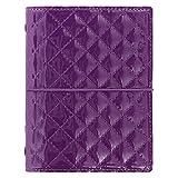 Filofax Pocket domino luxe organiser pocket Purple.