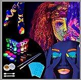 Lictin UV-Licht Bodypainting Schwarzlicht Körperfarben