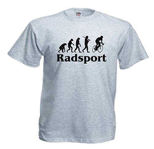 -Spirit of Isis- Radsport Evolution T757 T-shirt Grauschwarz