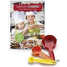 Kinderleichte Becherküche 03636 Backset 4-tlg. für Kinder inkl. Messbecher