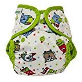 Best Bottom Cloth Diaper Shell-Snap, Hoot Color: Hoot - Best Reviews Guide