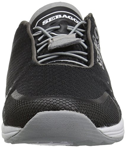 Sebago Cyphon Sea Sport, Black / Grey Textile B821004 Men Black / Grey