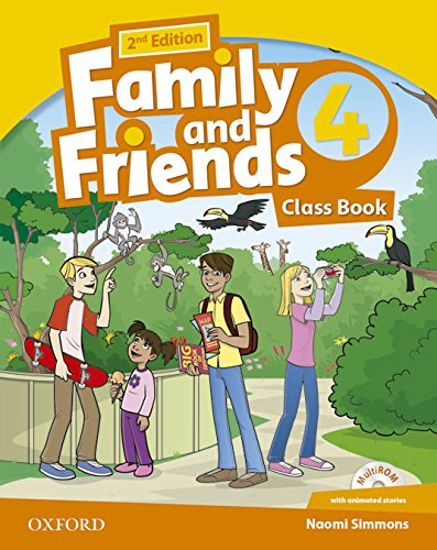 Family & Friends 4. Class Book Pack - 2nd Edition (Family & Friends Second Edition) - 9780194811477
