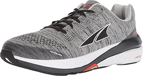 Altra Men Paradigm 4.0 Stability Running Shoe Running Shoes Lightgrey - Red 7