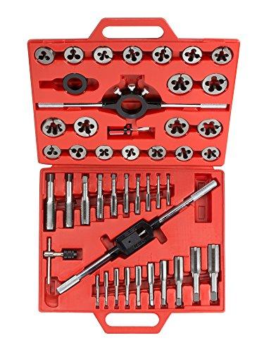 TEKTON 7561 Juego de 45 piezas de roscados (sistema métrico)