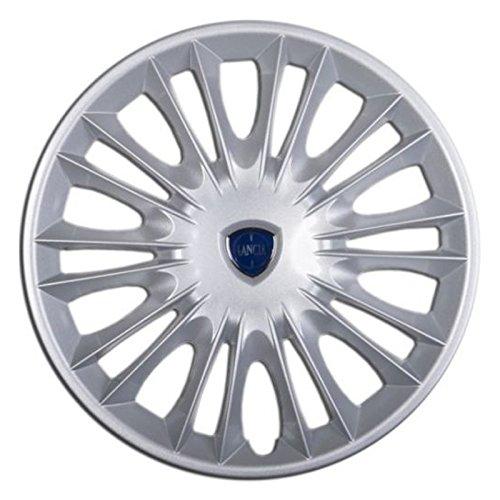 Un-copriruota-Copricerchi-Coppa-Coppe-15-per-auto-Lancia-Ypsilon-dal-2004-Ruote