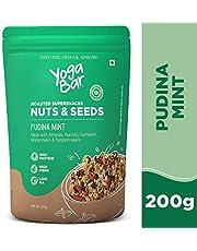 Yogabar Seeds Mix - Pudina Mint 200 gm