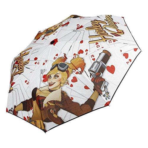 Officiel Suicide Squad Harley Quinn Bombshell pliage parapluie - DC Comics