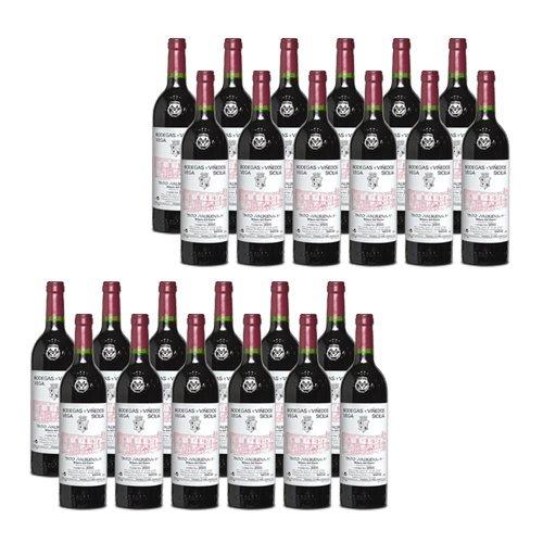 Vega Sicilia Valbuena 5º - Rotwein - 24 Flaschen