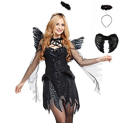 Svance Adult Halloween Party Kostüme Kleid für Frauen und Girls. (M, Engel FBA) (Die Kostüme Der Engel)