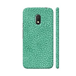 Colorpur Abstract Green Grass Artwork On Motorola Moto G4 Play Cover (Designer Mobile Back Case)   Artist: Moksha