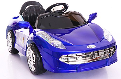 e3e92eae6 Toy House Number 28 Racing Sparks Rechargeable Battery Operated Ride-on Swing  Function Car with Remote for Kids(2 to 4 yrs)
