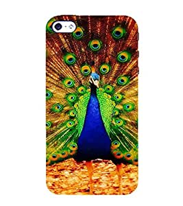 Ifasho Beautiful Peacock Back Case Cover For Apple Iphone 4S