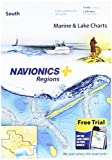 Navionics Plus Regions South Marine and Lake Charts on SD MSD