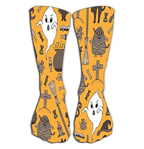 Women's Girls Novelty Over Calf Knee High Socks Funny Boot Sock 19.7