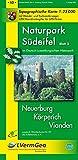 Naturpark Südeifel /Neuerburg, Körperich, Vianden (WR): Naturparkkarte 1:25000 mit Wander- und Radwanderwegen (Freizeitkarten Rheinland-Pfalz 1:15000 /1:25000) - Landesamt für Vermessung und Geobasisinformation Rheinland-Pfalz