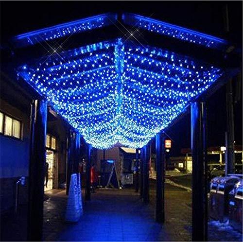 Road&Cool LED-Lichternetz Net Licht Innenwand Festival Fischernetz Weihnachten Im Freien Wasserdichte Garten Party Sternenlicht Hochzeit Dekoration Nacht Lichterkette