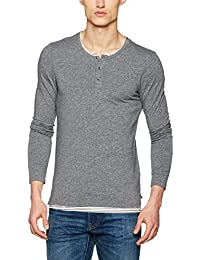 Scotch & Soda Longsleeve Tee Jersey Quality with Fake Double Layer In C, Hauts à Manches Longues Homme