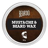#8: BEARDO Beard & Mustache Wax 50g by BEARDO