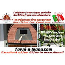 Forno a legna per pizza Pizza Party 70x70