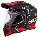 Oneal Sierra II Helmet Comb Black/Red XL (61/62cm) Casco, Adultos Unisex