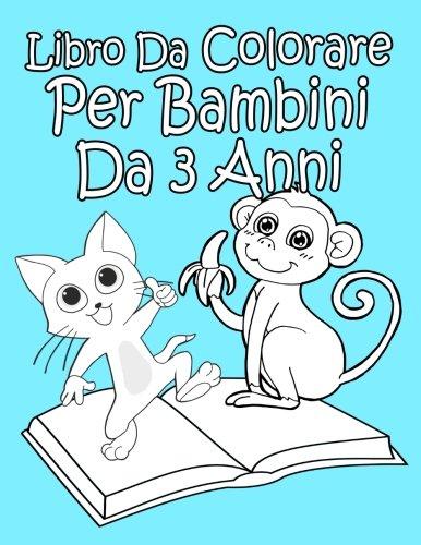 Libro da colorare per bambini da 3 anni