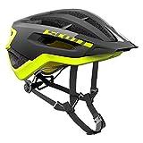 Scott Fuga Plus XC MTB Fahrrad Helm schwarz/gelb 2018: Größe: L (59-61cm)