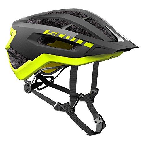 Scott Fuga Plus XC MTB Fahrrad Helm schwarz/gelb 2018: Größe: M (55-59cm)