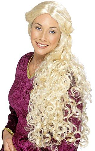 sance Perücke, One Size, Blond, 42173 (Blonde Renaissance Perücke Kostüme)