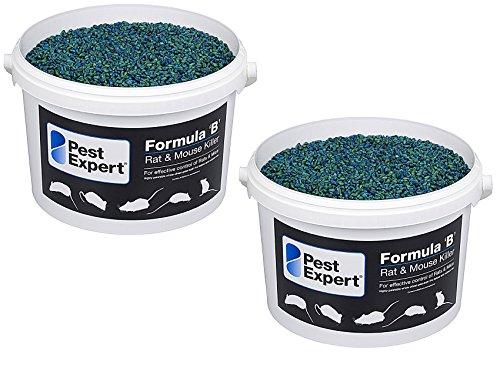 Pest Expert Souricide 2 x 3Kg Formula B tueur souris